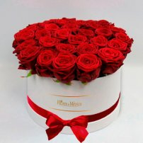 White Box of Red Roses, Mexico