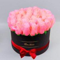 Caja Negra de Rosas Rosadas, Mexico