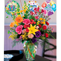 Happy Birthday Flowers, Mexico