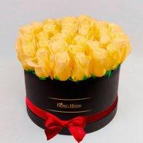 Black Box of Yellow Roses, Mexico